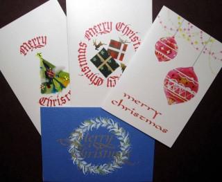 オリジナルクリスマスカードがご購入いただけます