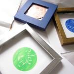 個展準備/銅版画コラボレーション作品    preparación de la exposición/grabado en cobre