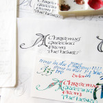 クリスマスカード/tarjetas de la navidad